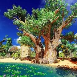 Bühnenbild Madagaskar