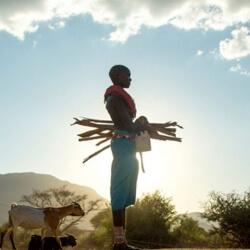 360 Grad Film My Africa Bühnenbild
