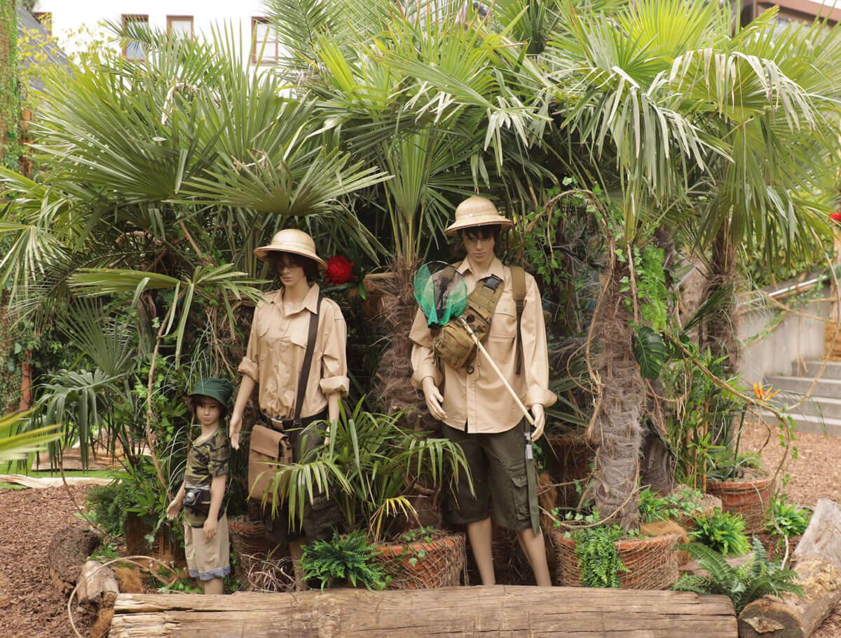 07.07.2019 Sommerferien im Bergzoo Der Dschungel ruft! Zoo Halle Saale copyright Steffen Schellhorn