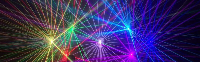 Laternenfest Lasershow